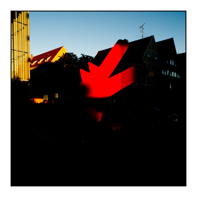 Frank Titze, Ulm/Germany - No. 471 : Ulm Center - Ulm Center at Sunset I - 640x640 Pixel - 72 kB