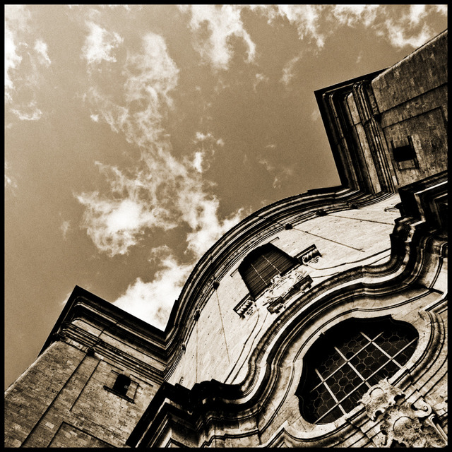 Frank Titze, Ulm/Germany - No. 619 : Ulm South - Monastery Church III - 640x640 Pixel - 223 kB