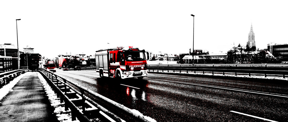 Frank Titze, Ulm/Germany - No. 898 : Ulm West - Fire Men I - 960x408 Pixel - 154 kB