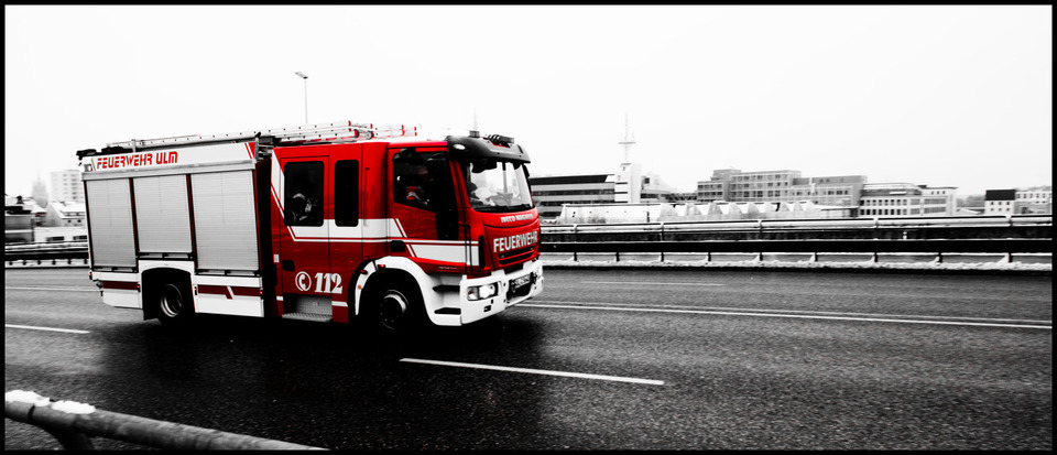 Frank Titze, Ulm/Germany - No. 900 : Ulm West - Fire Men III - 960x413 Pixel - 126 kB