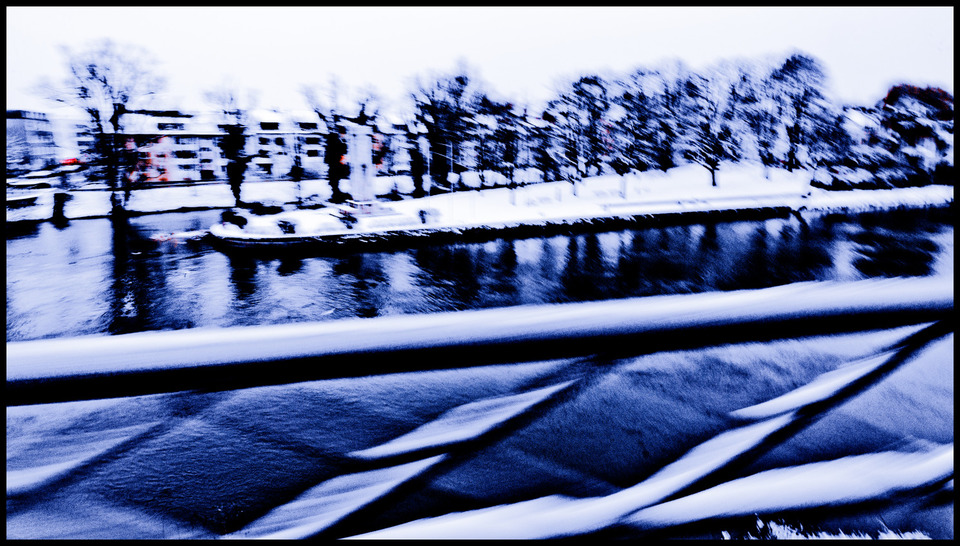 Frank Titze, Ulm/Germany - No. 919 : Ulm East - Winter Danube - 960x546 Pixel - 271 kB