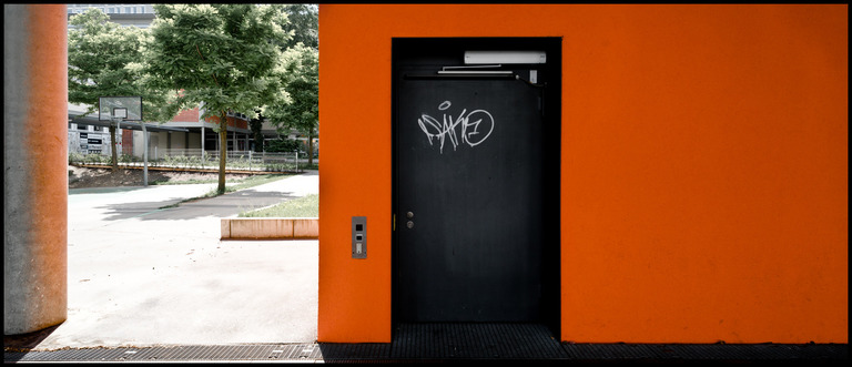 Frank Titze, Ulm/Germany - No. 237 : Ulm North - The Door - 960x413 Pixel - 128 kB