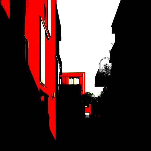 Frank Titze, Ulm/Germany - No. 8851 : .new. - Red Houses I - ImageWidth : --- xImageHeight : ---  Pixel - 117 kB