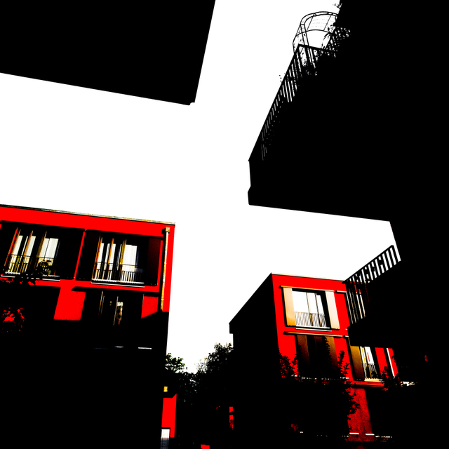 Frank Titze, Ulm/Germany - No. 8852 : .new. - Red Houses II - ImageWidth : --- xImageHeight : ---  Pixel - 152 kB